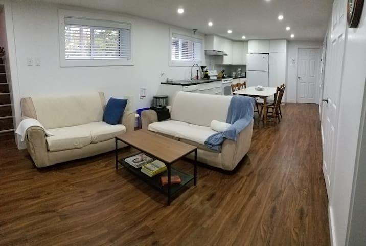 Cozy apartment / Logement chaleureux Québec
