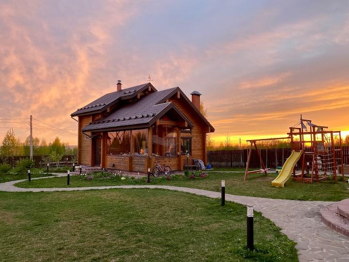 Экологический дом в прекрасном Дмитровском р-не