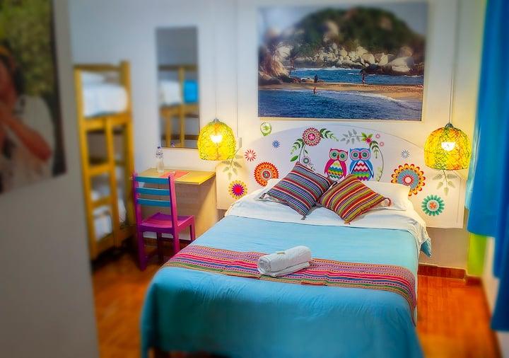 Private Triple Room/bathroom - Lima Airport Hostel