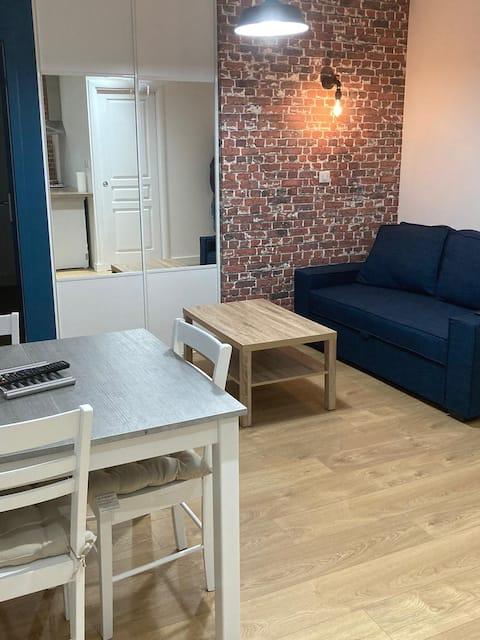 Appartement centre ville de Saint  parking gratuit