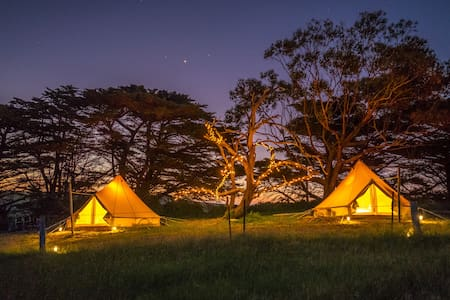 Sheltered Glamping Phillip Island - 'Boho' - Ventnor