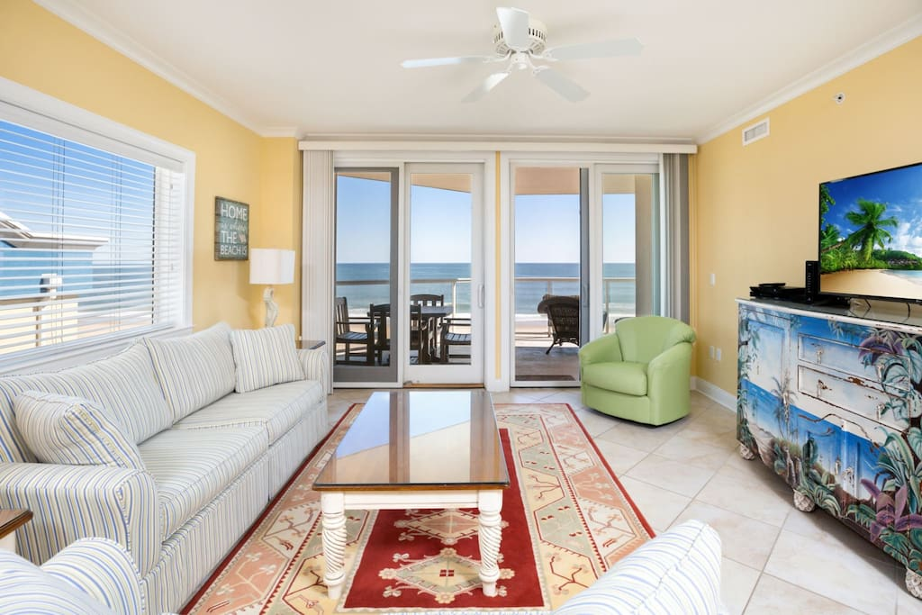 Gorgeous Ocean Views, Free WiFi, and beautifully furnished.