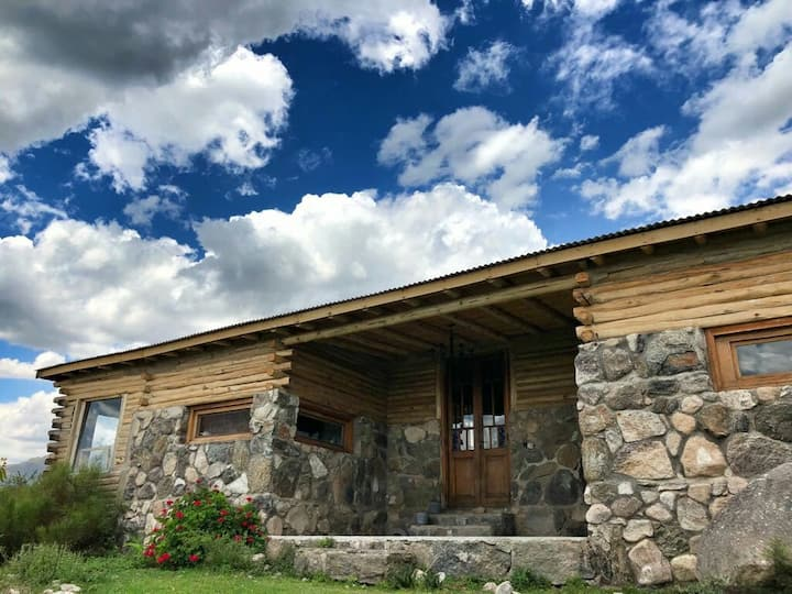 Casa Lavanda.Eco casa de montaña .