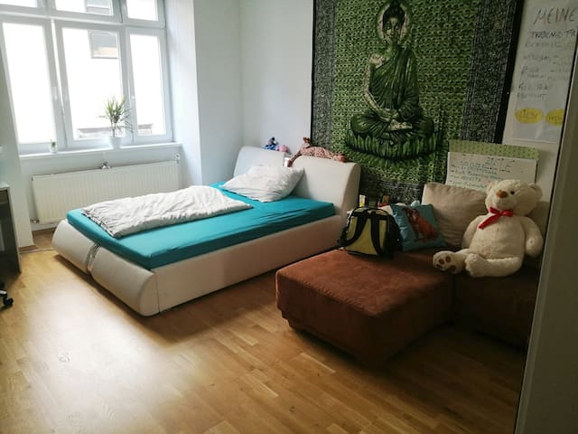 cozy and big room at U2 & U1 (10min to Karlsplatz)