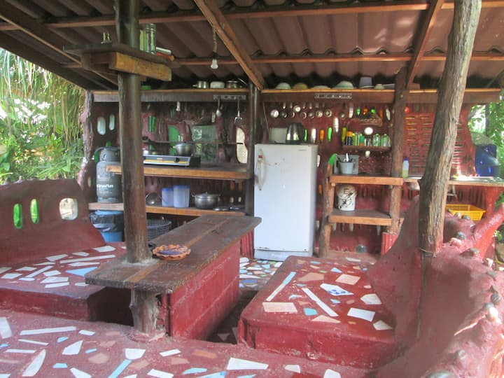 baan sabai bottle house