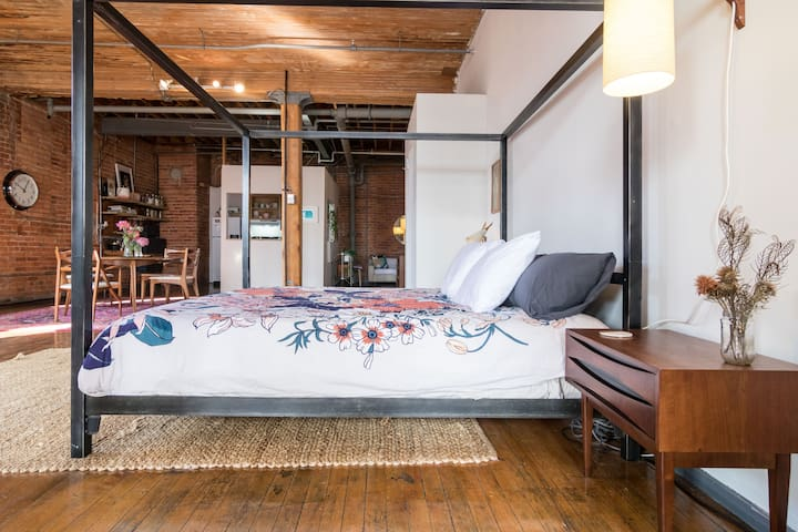 ❤️ Amazing Loft in Detroit's Hippest Neighborhood
