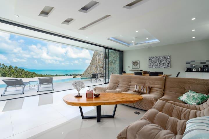 VILLA ANNABELLA: splendid villa 2 BR Sea view