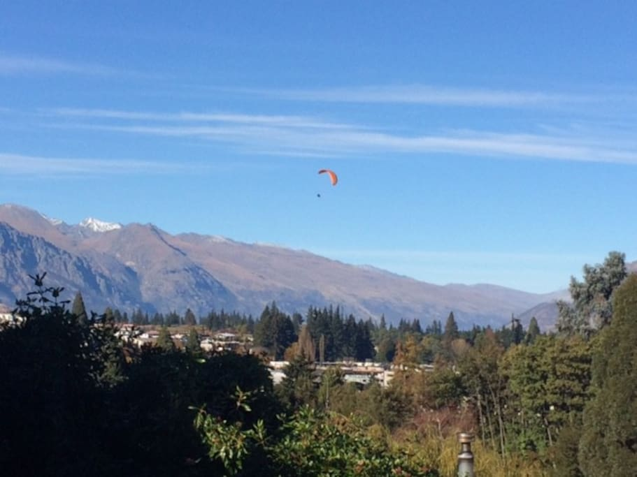 The Remarkables/Town view