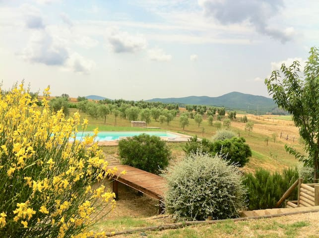 Dreamy views, privacy and peace in Maremma