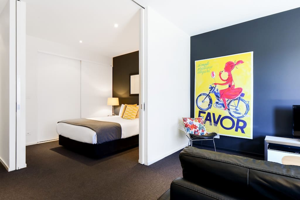 Modern One Bedroom Port Melbourne Apartment Apartments For Rent In Port Melbourne Victoria