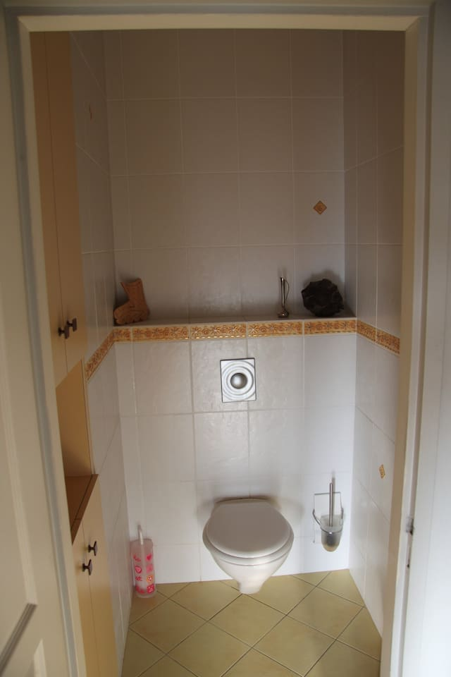 Les toilettes (communes pour le 1er étage)