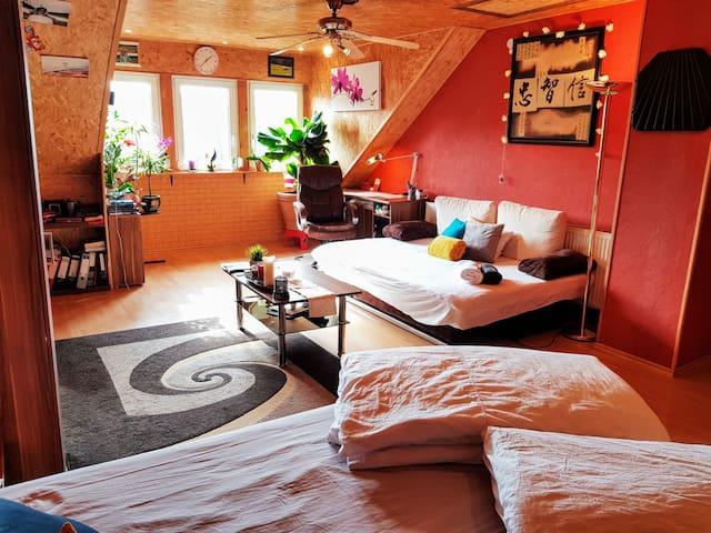 Komfortables, großes Privatzimmer zum Entspannen!