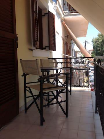 Cozy studio in town of Aegina (No2) - Egina - Apartment