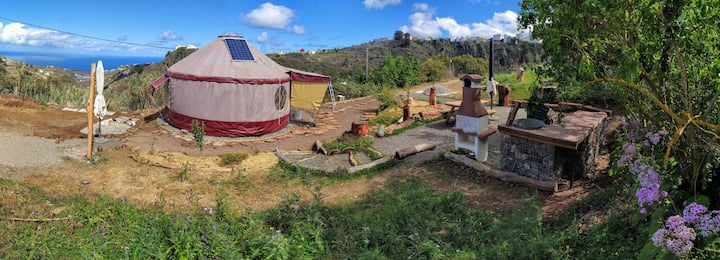 Glamping Yurt, Ecological Farm, Breakfast included