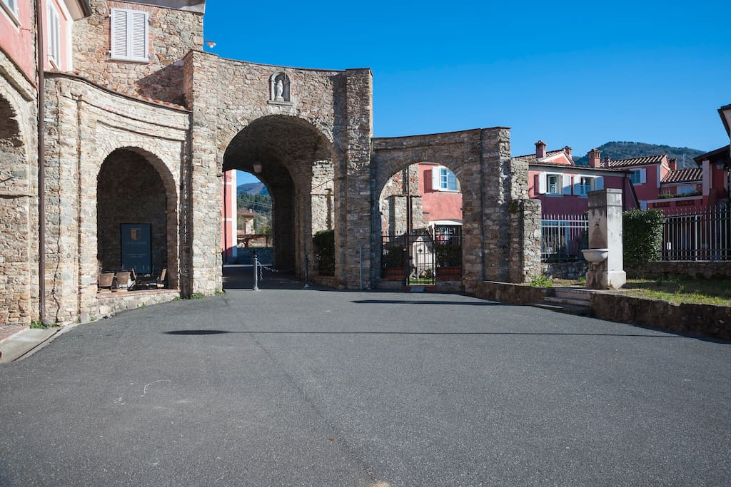 Arco di Caniparola - Ingresso