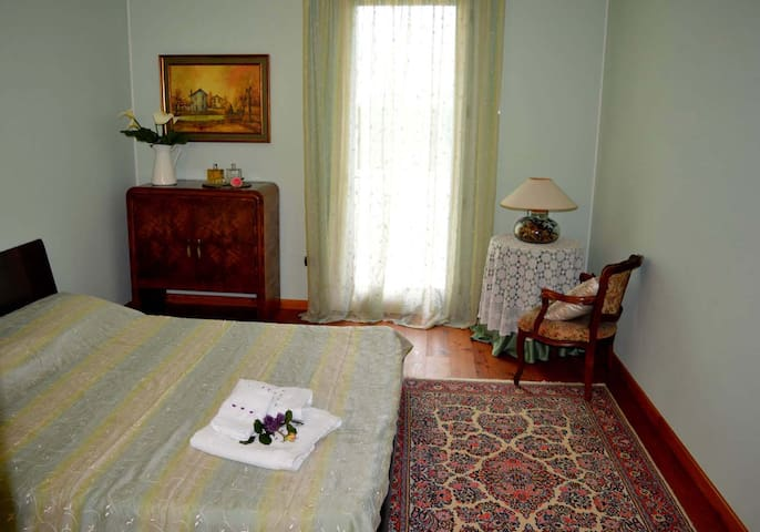 B&B La Casa Bianca vicino Oderzo - La Camera Verde - Ormelle - Bed & Breakfast