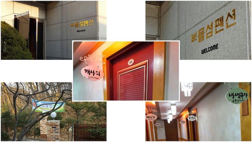 포천시 고모리 보물섬팬션 (개나리방) - Sohol-eup, Pocheon-si - Pensão (Coreia)