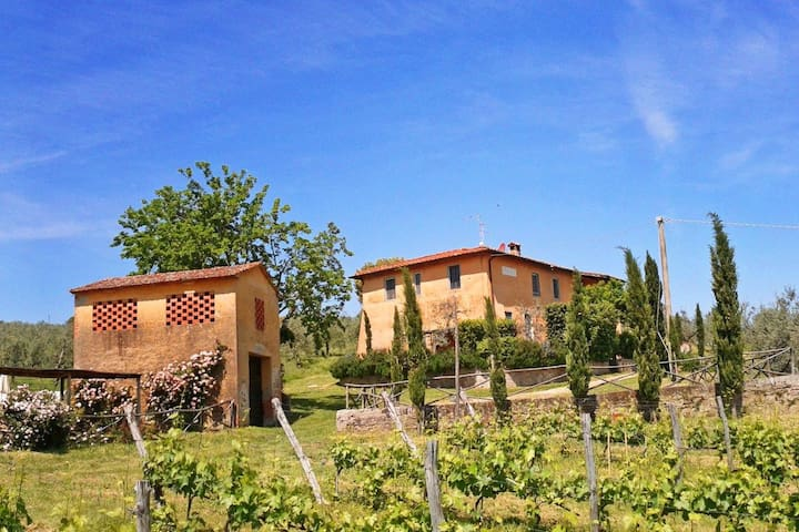 Feriale II.Petrolo winery.Pool,wifi - Bucine - House