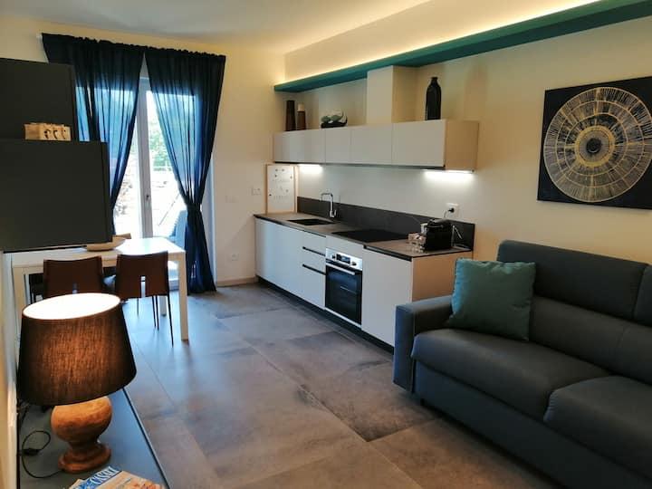 NUOVO appartamento con giardino privato