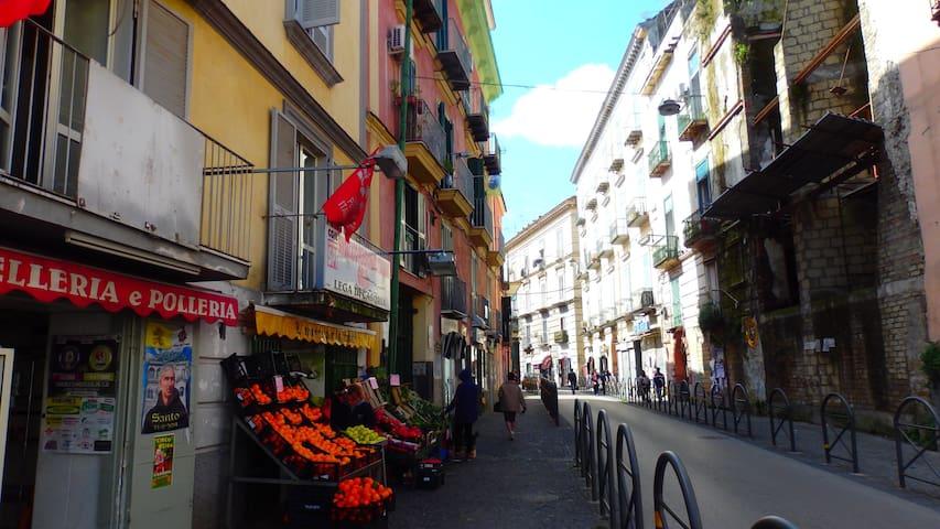*****www naplesisyourhome-b&b-wifi-Cr - Napoli Casoria - Wohnung