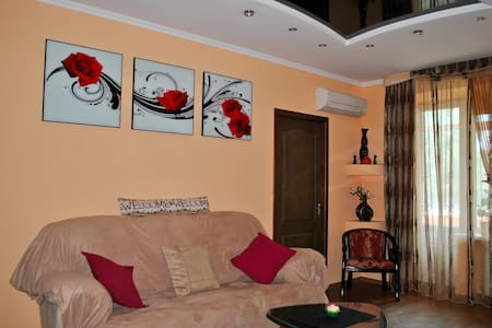 2-bedroom flat in heart of a city