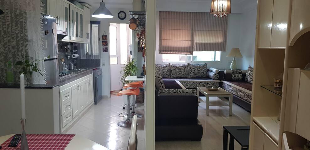 bel appartement avec terrasse ensoleillée