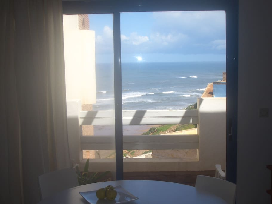 Ocean view from salon