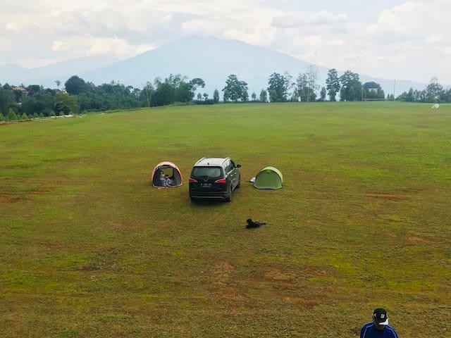 Taman Olahraga Pancawati Camping grounds