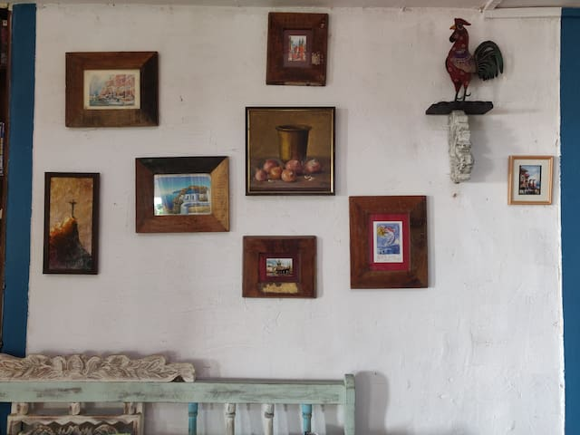Painting collection from all over the world