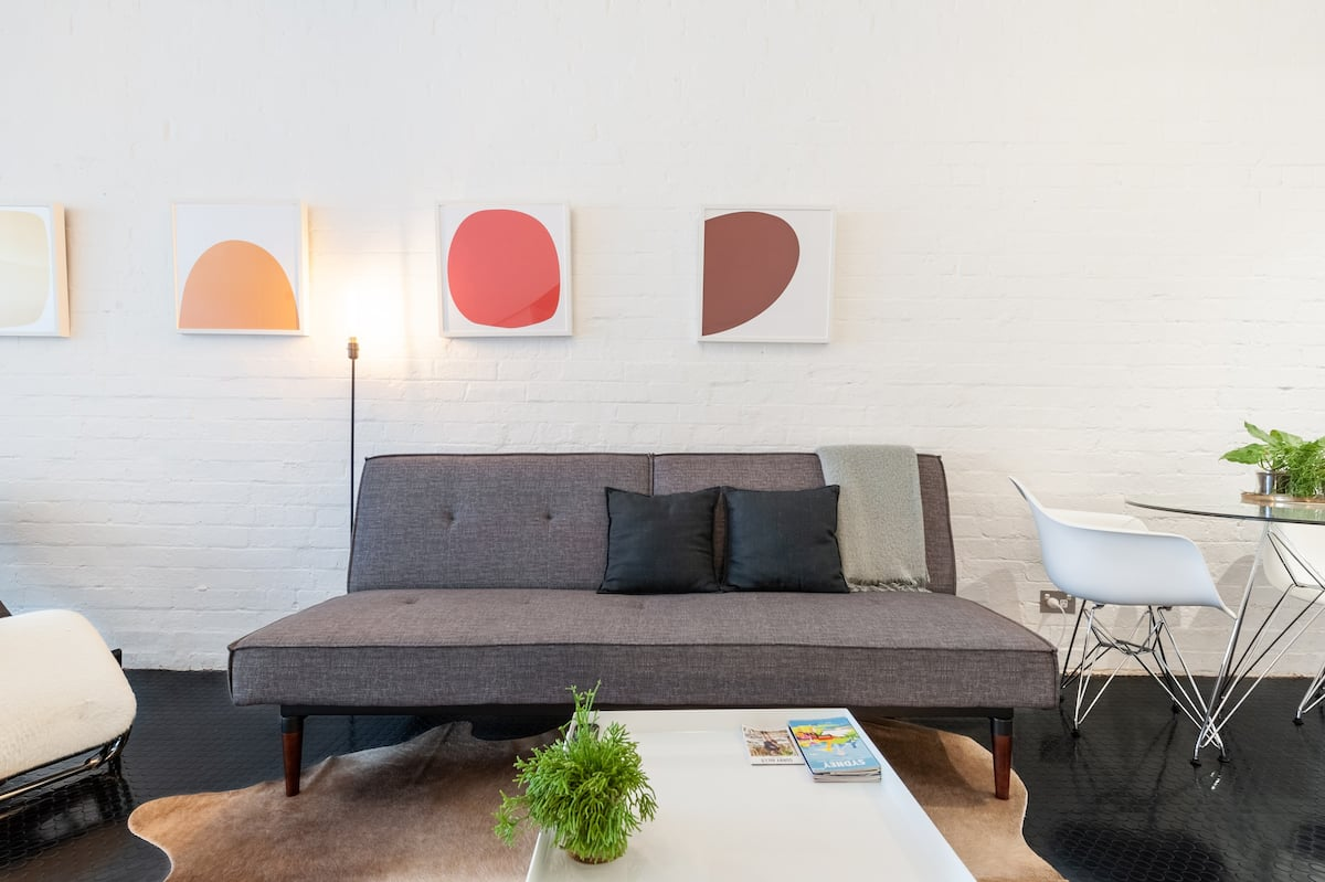 Explore Surry Hills from a Designer Warehouse Pad