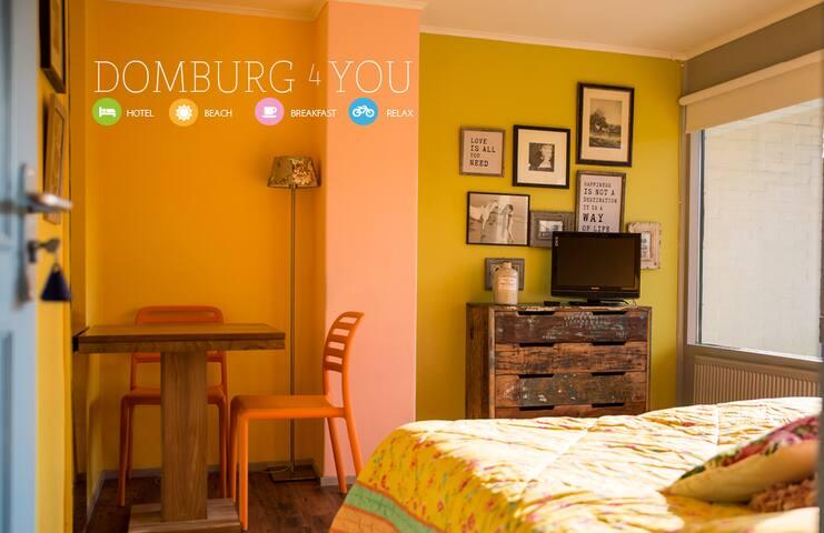 Domburg4you - Domburg - ที่พักพร้อมอาหารเช้า