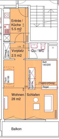 Stadt und Land in Griffnähe... - Binz - Apartamento