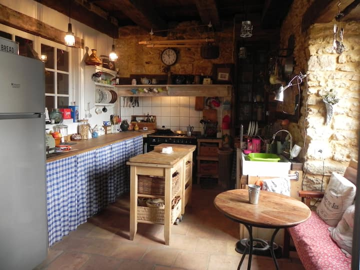 Dordogne Belves Maison - private room