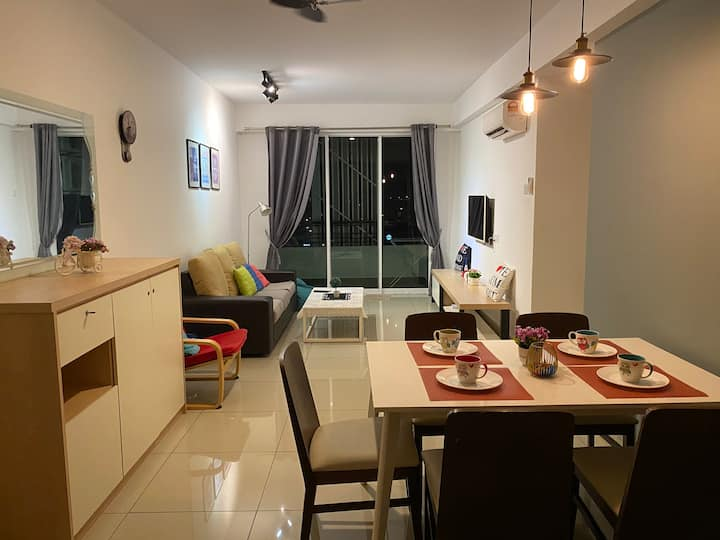 * PROMO * Home Fairy @ Majestic Ipoh [3 bedrooms]