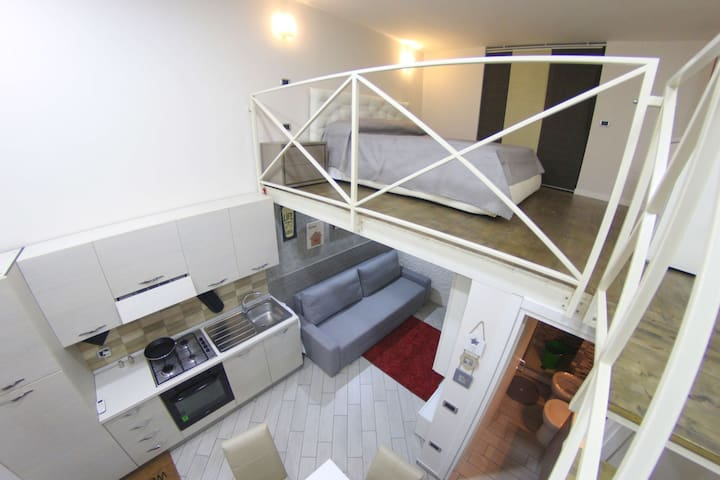 Brillantina House Bilocale Loft