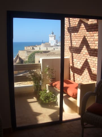 Great 1-bed ocean-view apartment - Sidi Ifni - Wohnung