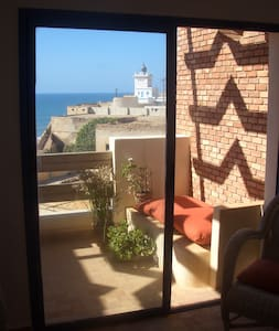 Great 1-bed ocean-view apartment - Sidi Ifni