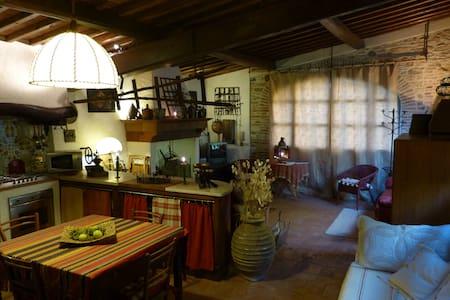 Romantic loft in a Tuscan farmhouse - Stazione Masotti - Loftlakás