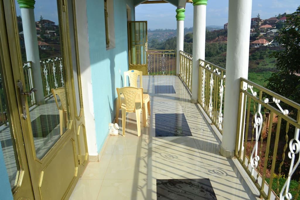 The balcony gives good views of the surroundings environment as well one can get a bath from the rising sun.