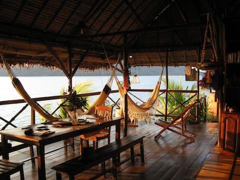 Geweldige bungalow aan zee !