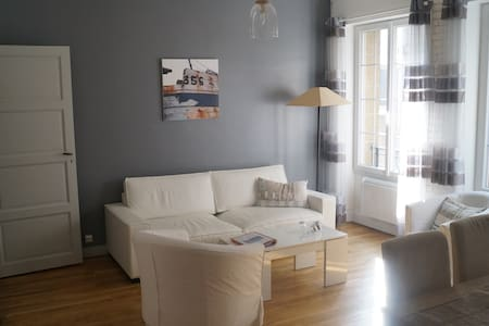 SPACIEUX APPARTEMENT INTRA MUROS - St-Malo - Appartement