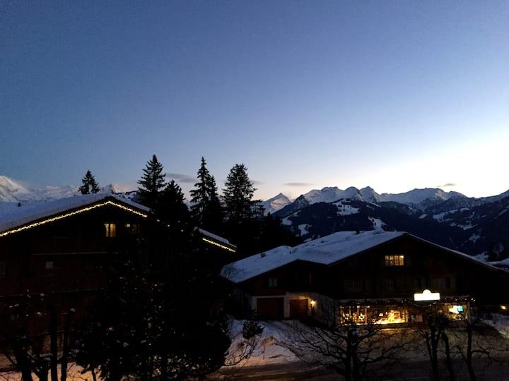 Ferienwohnung in Schönried/Gstaad