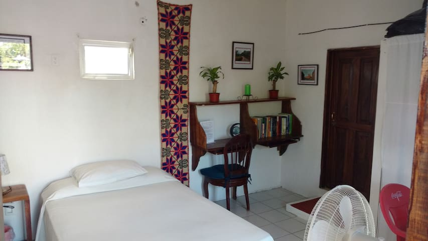 Nice Room and Terrace near the Ocean, A/C optional - Bucerías - Hus