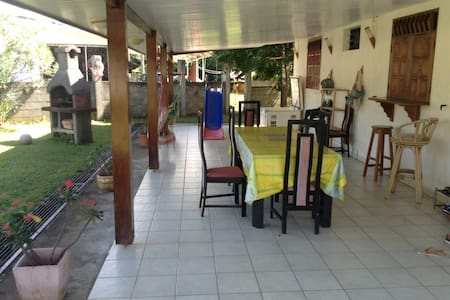 under the sun of the Guyana enjoy y - Remire-Montjoly - House