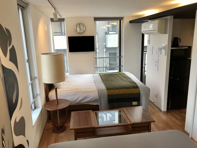 3ppl 1Bed 1Sofa FreeWiFi Kitchen Shibuya Shinagawa