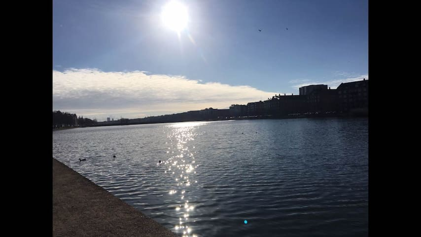 1 bedroom apartment by the lakes - Copenaghen - Appartamento