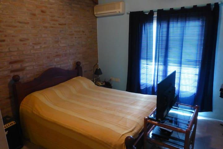 Habitación Privada Doble - Rosario - Casa