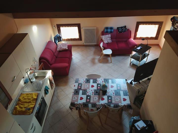 Appartamento luminoso e centrale