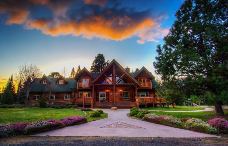 Prospect Lodge Shasta room - Prospect - Maison