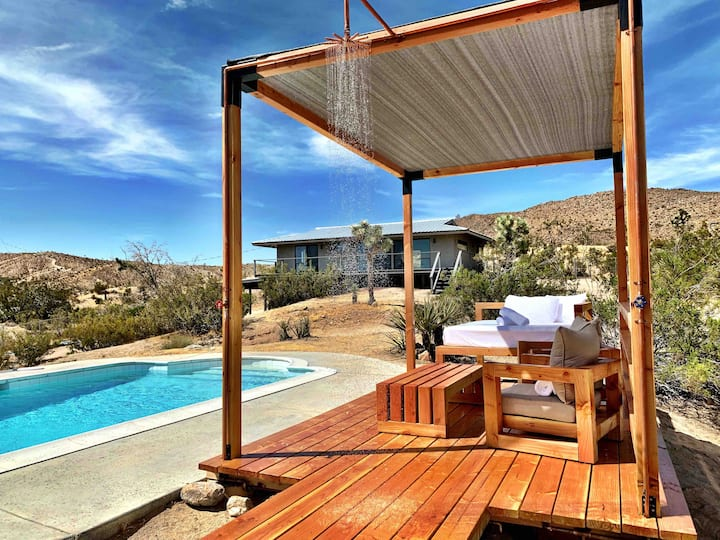 The Joshua Tree Prescott House + Pool & Hot Tub